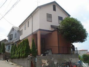 外壁塗装工事(東京都足立区S様邸)