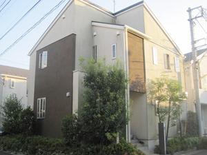 外壁塗装工事(東京都渋谷区A様邸)