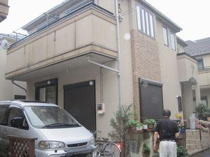 外壁塗装工事(東京都足立区I様邸)