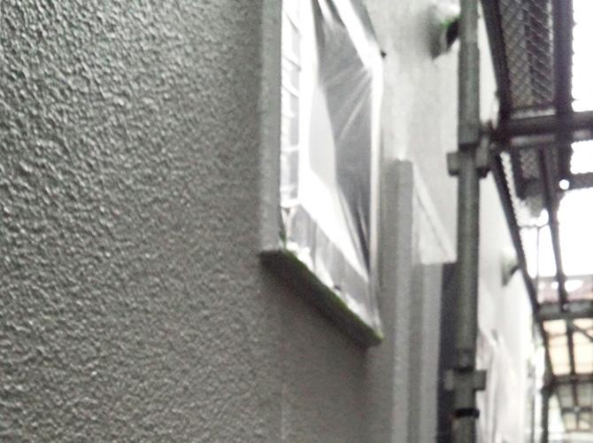 養生で塗料の飛散等を防ぐことができます。