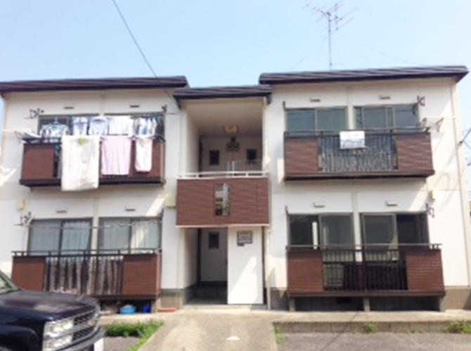 東京都葛飾区アパートの外壁塗装・屋根塗装の施工後