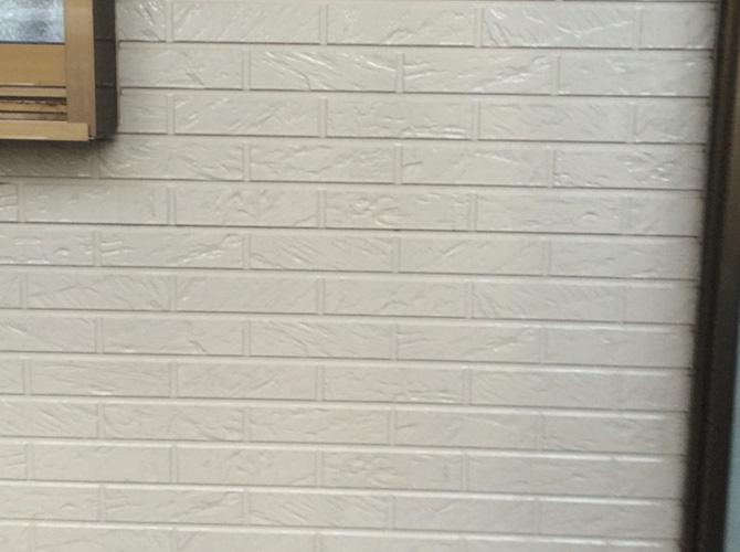 外壁の高圧洗浄の施工後の状態です。