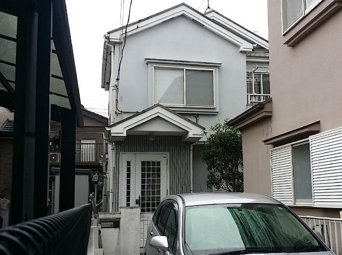埼玉県さいたま市の外壁塗装施工前