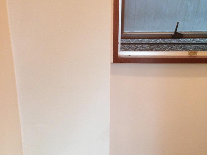 ビルの内装塗装工事の施工後