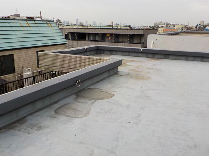 外壁塗装・防水工事の施工前
