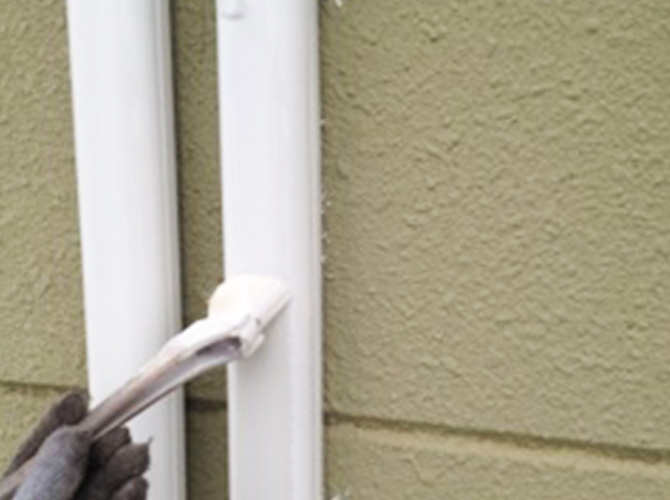 雨樋などの付帯部の塗装・補修もお任せ下さい。