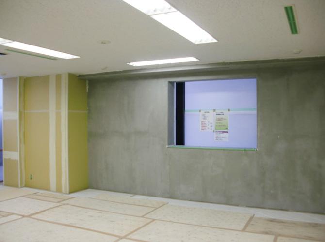ビルの内装工事も承っております。