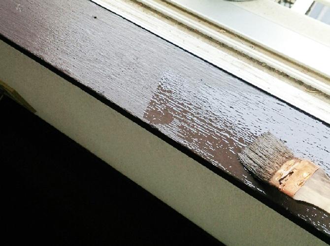 木部の内装塗装もお任せ下さい。