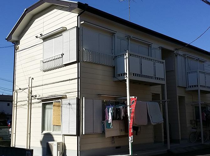 アパート・マンションの外壁塗装はお任せ下さい。