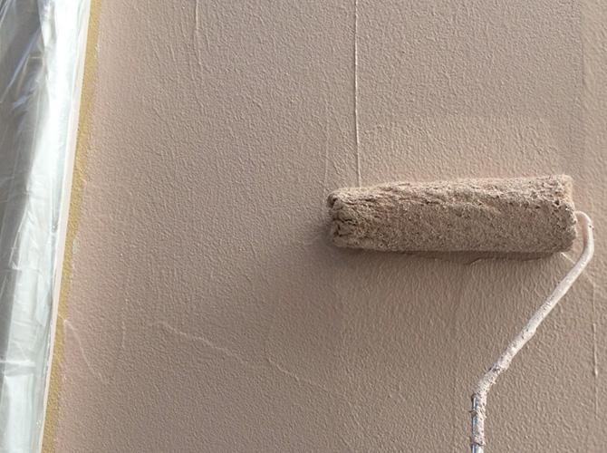 外壁塗装・防水工事の施工中