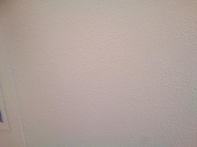 外壁塗装の下塗りの施工完了後です。