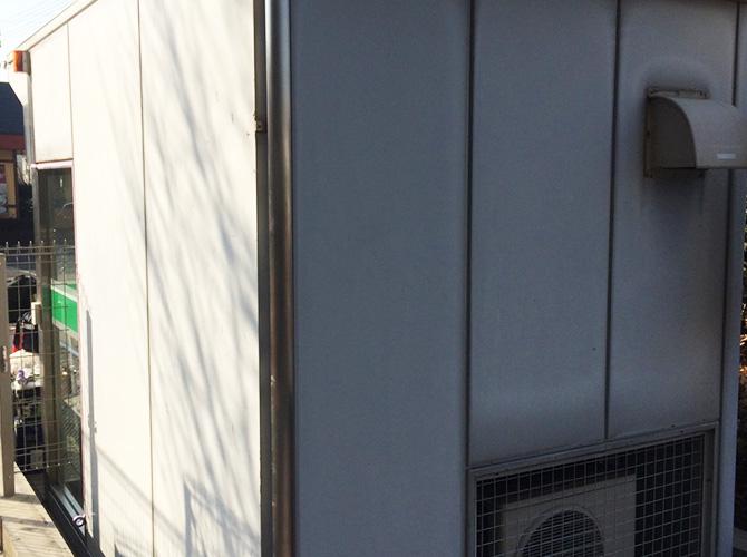 神奈川県厚木市のATM外壁塗装工事の施工前
