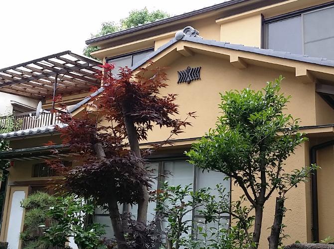 東京都江東区の外壁塗装・瓦屋根補修工事の施工後