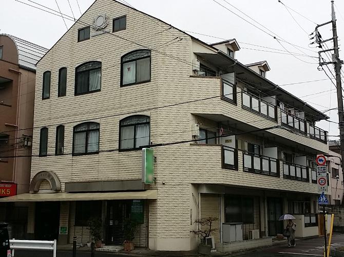 東京都足立区マンションの外壁塗装・屋根塗装工事の施工前