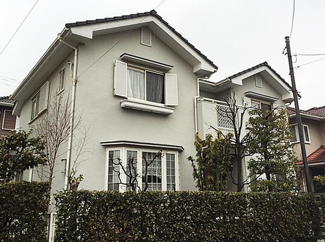 東京都町田市の外壁塗装工事の施工前