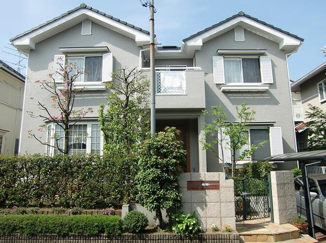 東京都町田市の外壁塗装工事の施工後