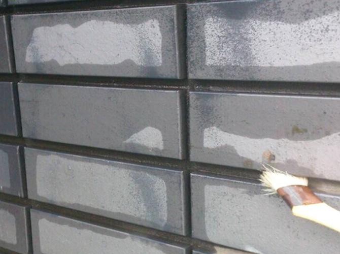外壁(タイル面)の塗装