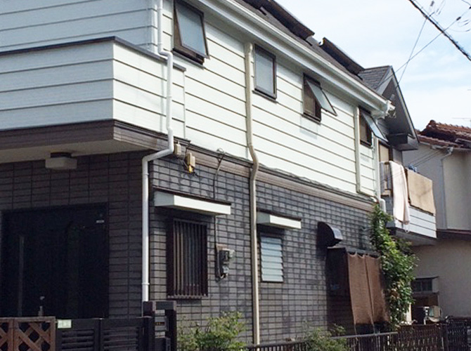 東京都世田谷区の外壁塗装工事の施工後