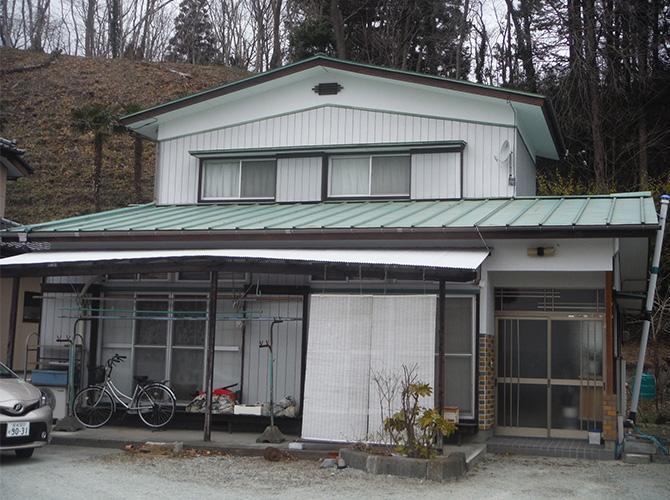 宮城県角田市の外壁塗装・屋根塗装工事の施工前
