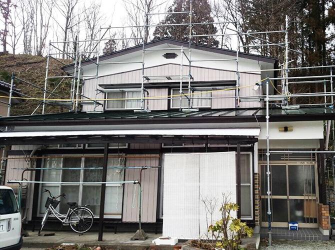 宮城県角田市の外壁塗装・屋根塗装工事の施工後