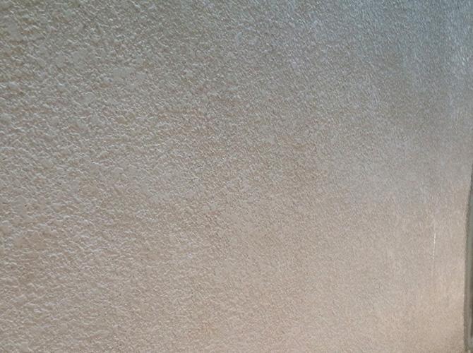 外壁塗装工事の施工前の状態です。