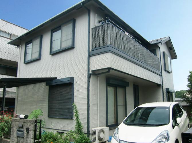 神奈川県相模原市の外壁塗装・屋根塗装工事の施工後