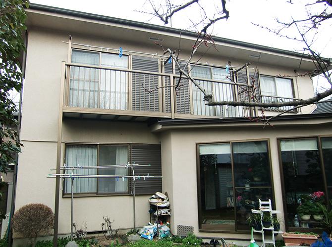 東京都小平市の外壁塗装・屋根塗装工事の施工前