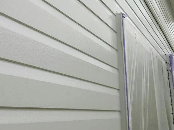 外壁塗装の施工完了後