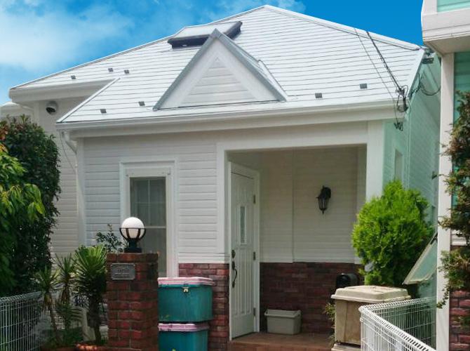 神奈川県横浜市の外壁塗装・屋根塗装工事の施工後