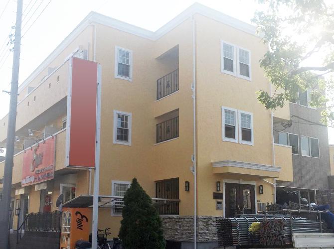 千葉県市川市のマンションの外壁塗装・修繕工事の施工後