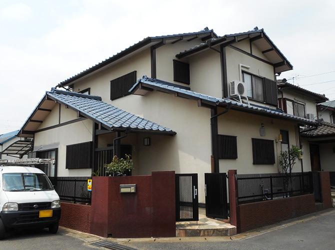 千葉県松戸市の外壁塗装・屋根塗装工事の施工前