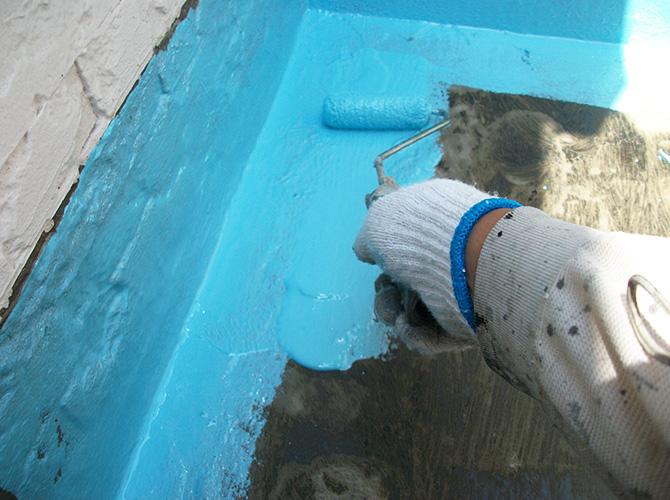 ベランダ・屋上の防水工事もお任せ下さい。