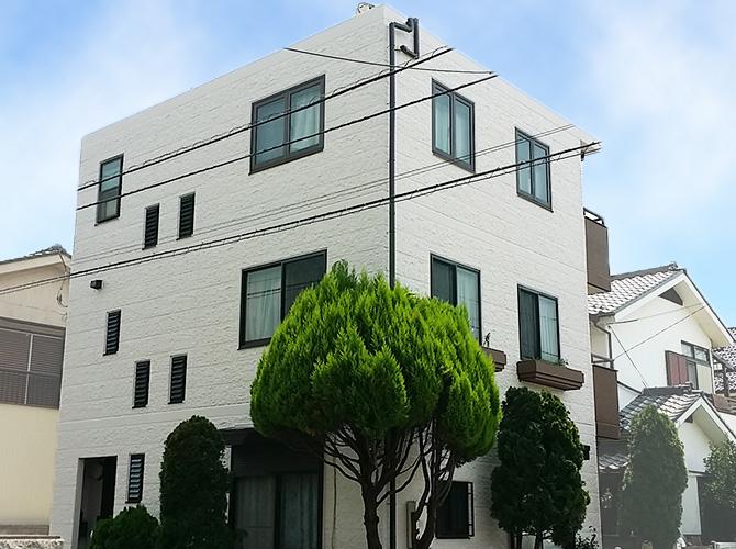 東京都葛飾区の外壁塗装・屋上防水工事の施工後