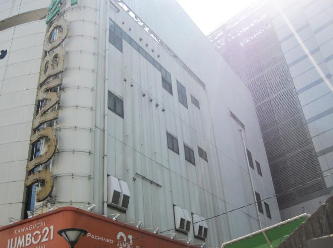 埼玉県川口市のビル大規模修繕工事の施工前