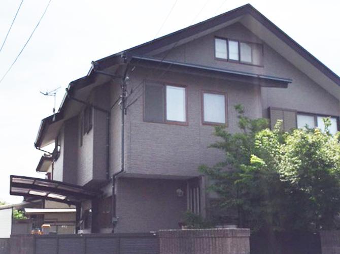 神奈川県藤沢市の外壁塗装・屋根塗装工事の施工前