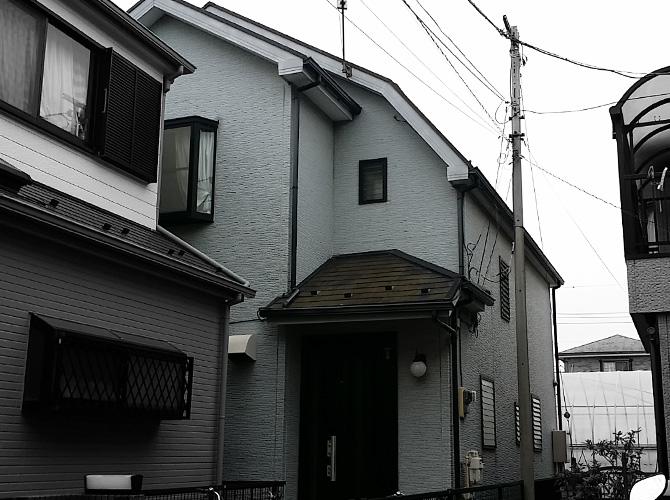 東京都足立区の外壁塗装・屋根塗装工事の施工前