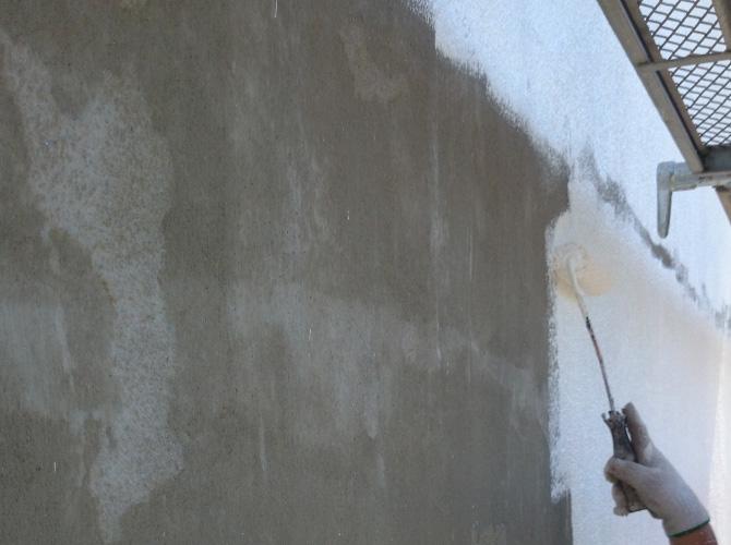 外壁塗装の肌合わせ