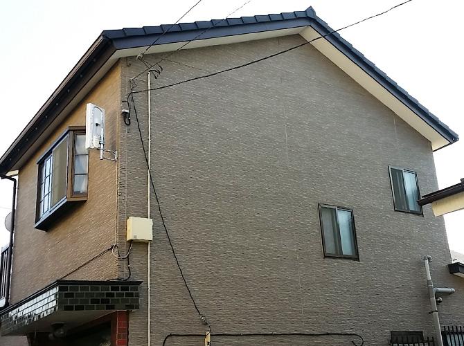 東京都足立区の外壁塗装工事の施工前