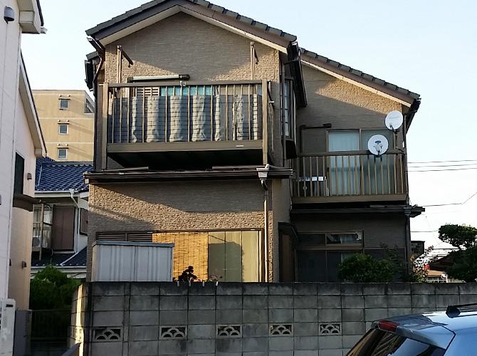 東京都足立区のUVプロテクトクリヤーの外壁塗装施工事例