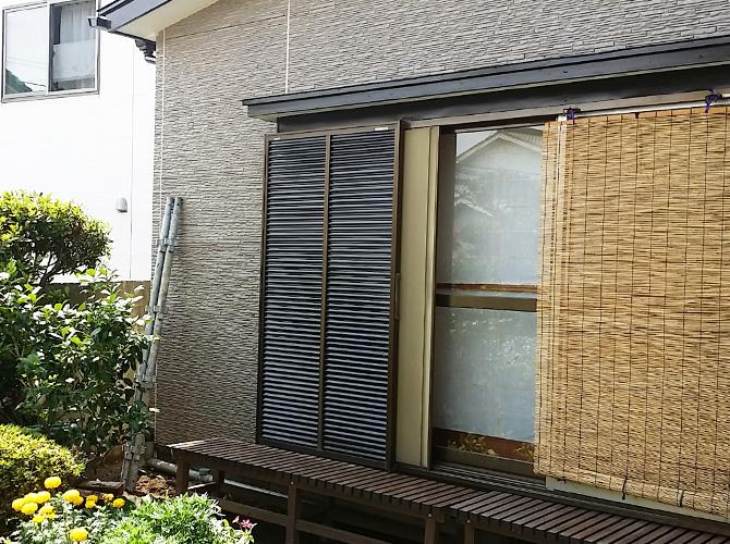 東京都足立区の外壁塗装工事の施工後
