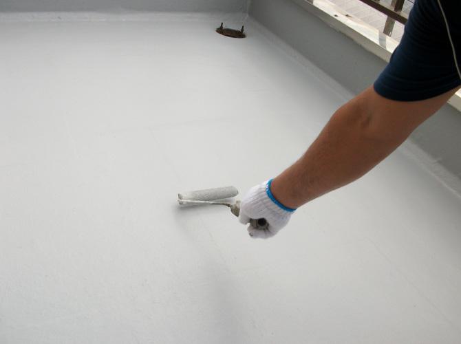 ベランダ・屋上防水工事もお任せ下さい。