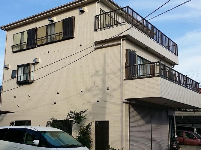 東京都江戸川区の外壁塗装・屋根塗装工事の施工後