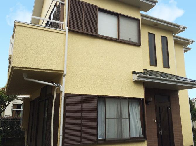 東京都立川市の外壁塗装・屋根塗装工事の施工後