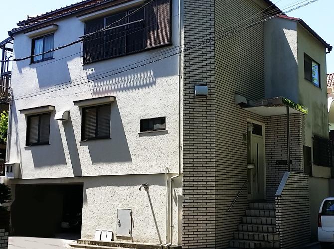 東京都世田谷区の外壁塗装・補修工事の施工前