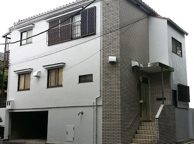東京都世田谷区の外壁塗装・補修工事の施工後