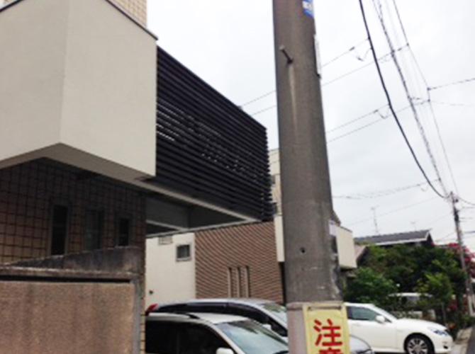 東京都杉並区の外壁塗装の施工後
