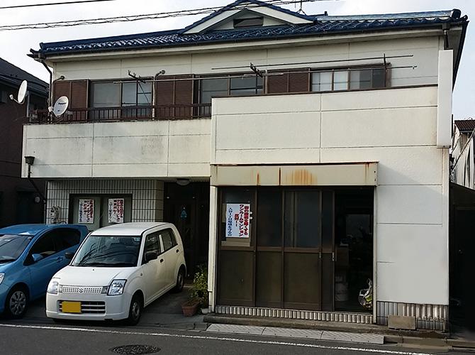 東京都足立区の外壁塗装・漆喰補修工事の施工前