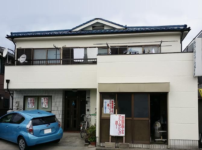 東京都足立区の外壁塗装・漆喰補修工事の施工後