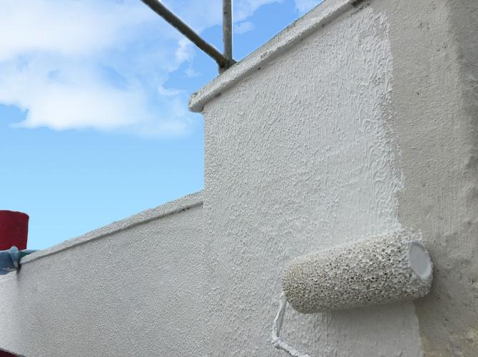 外壁の補修・塗装工事から鉄部まで対応可能です。