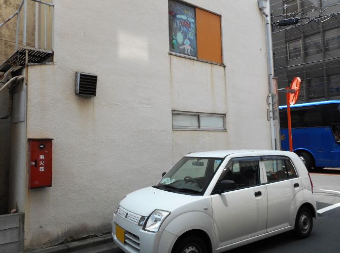 東京都台東区事務所の外壁塗装・内壁塗装工事の施工前